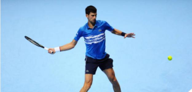 Novak Djokovic y cómo llega a Nitto ATP Finals 2020. Foto: gettyimages