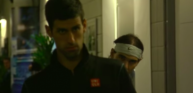 Novak Djokovic y Rafael Nadal. Fuente: TennisTV