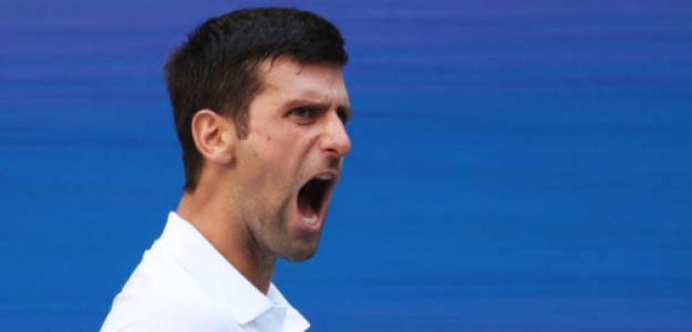 Djokovic celebra. Fuente: Getty