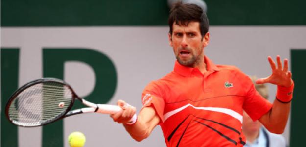 Novak Djokovic gana a Henri Laaksonen en Roland Garros 2019. Foto: zimbio