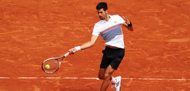 Novak Djokovic en tierra batida, número 1. Foto: zimbio