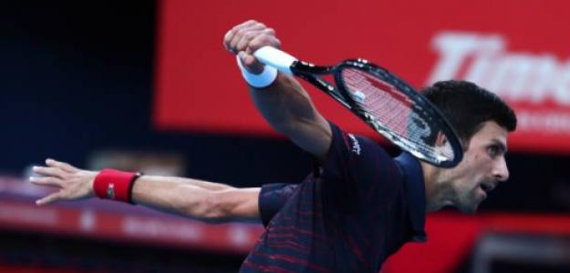 Novak Djokovic en Shanghái 2019. Foto: gettyimages