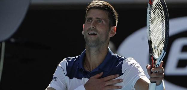 Novak Djokovic en Open de Australia 2019. Foto: zimbio