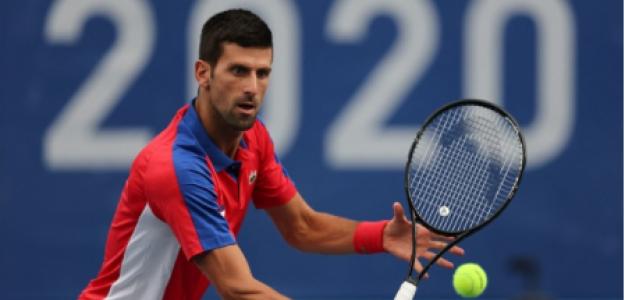 Novak Djokovic gana a Struff en Juegos Olímpicos Tokio 2021. Foto: gettyimages