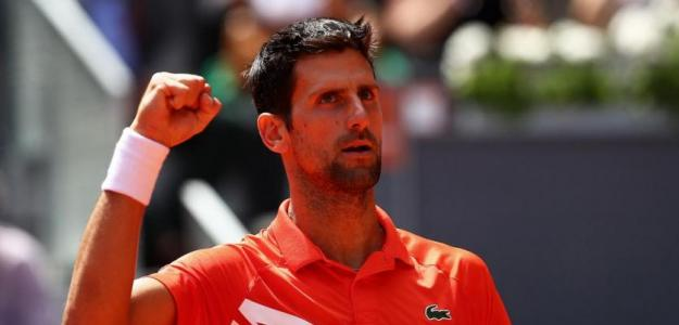Novak Djokovic gana a Dominic Thiem. Foto: zimbio