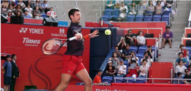 Novak Djokovic en Tokio 2019. Foto: gettyimages