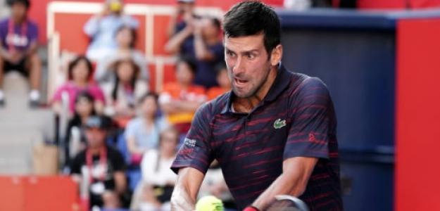 Novak Djokovic en Tokyo. Foto: Getty Images