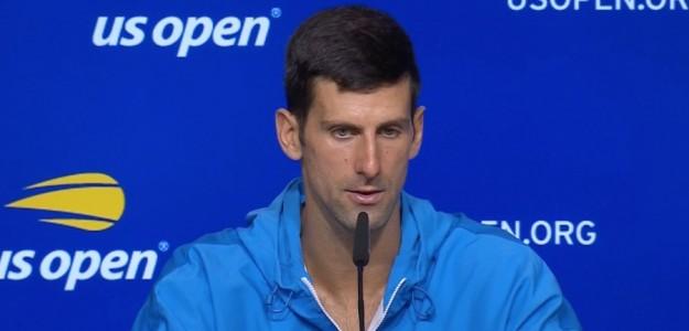 Djokovic quedó a seis partidos de ganar el Grand Slam. Foto: Stephanie Myles (@OpenCourt)