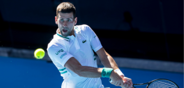 Novak Djokovic critica velocidad de pistas en Open de Australia 2021. Foto: gettyimages
