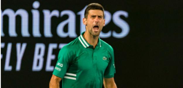 Novak Djokovic, trato recibido en Open de Australia 2021. Foto: gettyimages