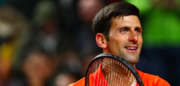 Novak Djokovic entrega su amor al público romano. Fuente: Getty