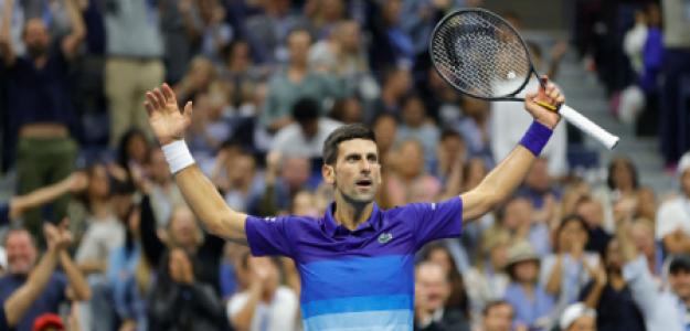 Novak Djokovic gana a Alexander Zverev en US Open 2021. Foto: gettyimages