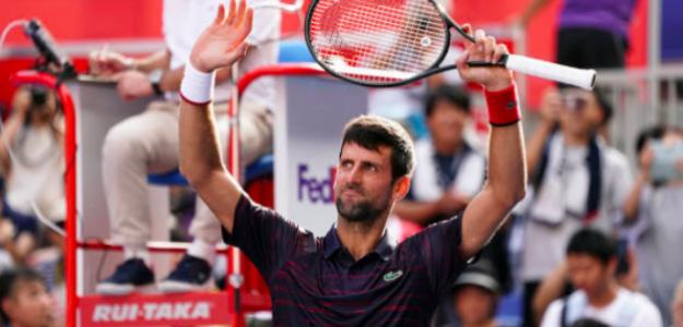 Novak Djokovic, imparable en Tokyo. Fuente: Getty