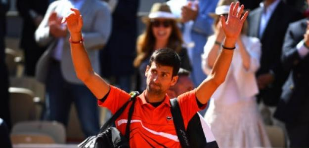 Novak Djokovic en París. Foto: Getty Images
