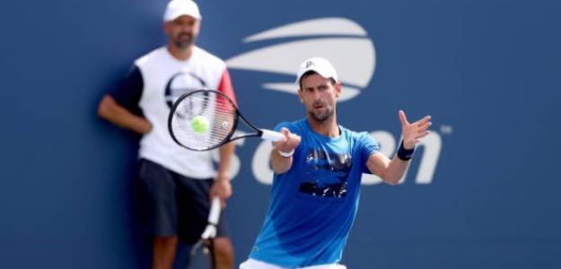 El serbio busca en Grand Slam más en Nueva York y acercarse aún más a Federer. Foto: Getty