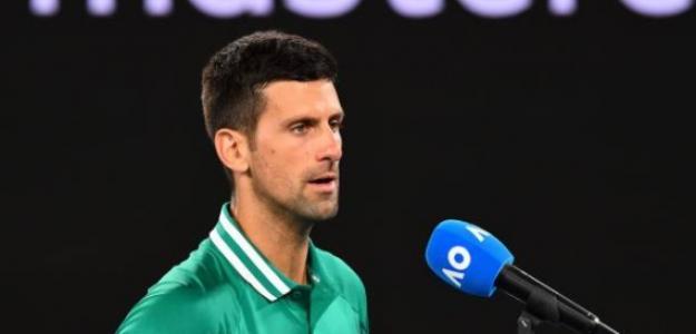 Novak Djokovic en Open de Australia 2017