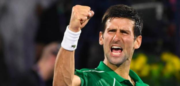 Novak Djokovic, invicto esta temporada. Fuente: Getty