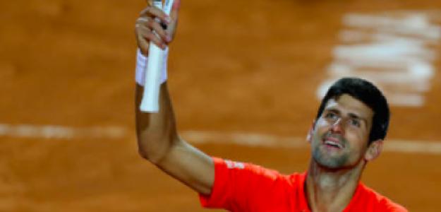 Novak Djokovic sueña con otro título en Roma. Fuente: Getty