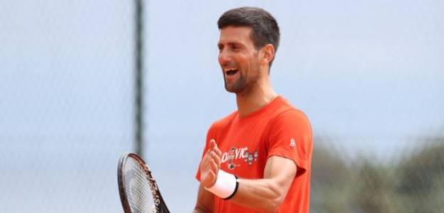 Novak Djokovic en Acapulco. Foto: abiertomexicanotelcel.com