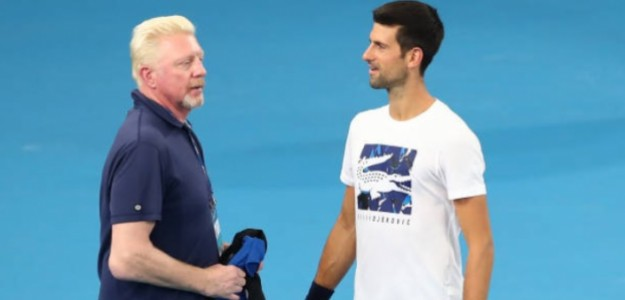 Novak Djokovic celebrando la victoria. Foto: Getty Images