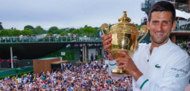 Novak Djokovic, campeón. Fuente: Getty