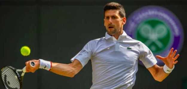Novak Djokovic sacó este miércoles su mejor tenis. Fuente: Getty