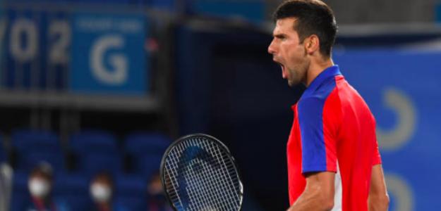 Novak Djokovic, imparable. Fuente: Getty