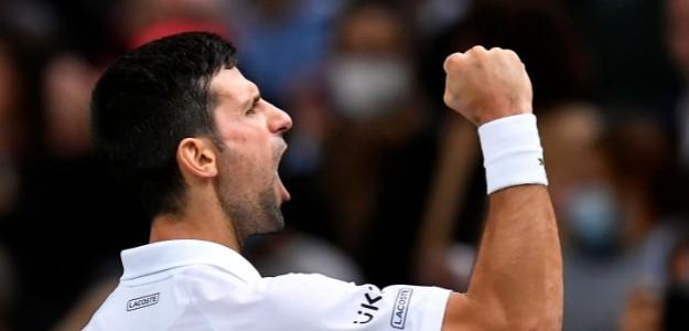 Novak Djokovic en rueda de prensa. Foto: Web Oficial de Djokovic