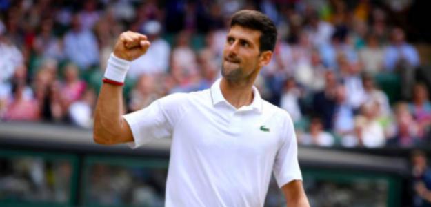 Novak Djokovic vuelve a la final de Wimbledon. Fuente: Getty