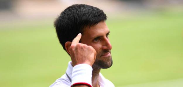 Novak Djokovic, un mentalista del tenis. Fuente: Getty