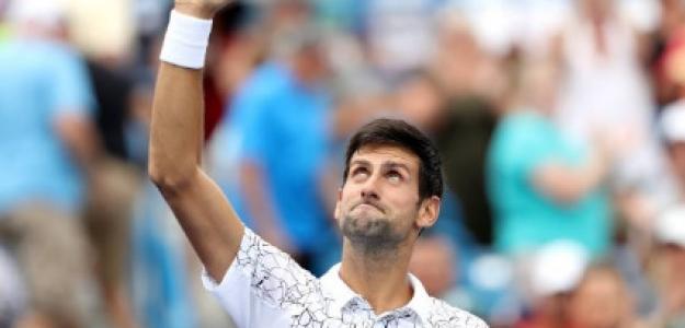 Novak Djokovic en Cincinnati. Foto: Getty Images