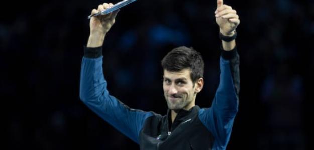 Novak Djokovic en Londres. Foto: Getty Images