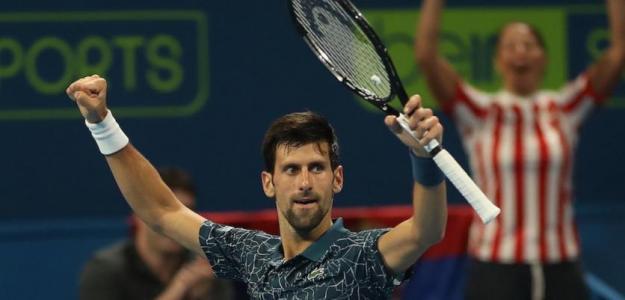 El número uno del mundo Novak Djokovic, en semis de Doha aunque no sin sufrimiento