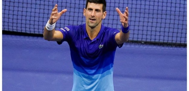 Novak Djokovic en Roland Garros. Foto: Getty Images