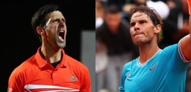 Djokovic o Nadal, ¿quién ganará en Roma? Fuente: ATP