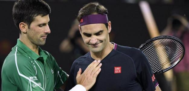 Djokovic y Federer, una rivalidad analizada por Gilles Simon. Foto: Getty