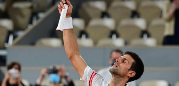 Disfrutando de una victoria épica el serbio Novak Djokovic. Foto: Getty