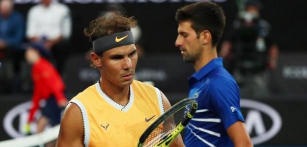 La lucha por el N1 entre Nadal y Djokovic: Todos los escenarios posibles. Foto: Getty
