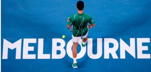 Final del Open de Australia 2020. Fuente: Getty