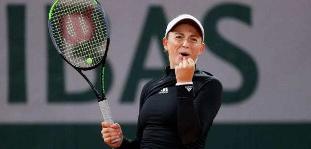 Jelena Ostapenko. Foto: getty