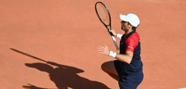 """Pablo Andújar, tras ganar a Federer y Thiem: """"Es como si hubiera venido Papá Noel"""". Foto: Getty"""