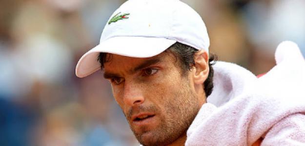 Pablo Andújar disputando Roland Garros. Fuente: Getty