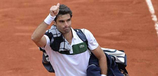 Imagen de Andújar durante Roland Garros 2015. Foto: Getty