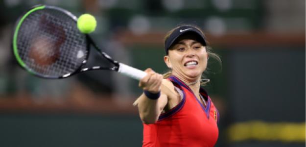 Paula Badosa, semifinalista Indian Wells 2021. Foto: gettyimages