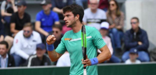 Pedro Martínez superó la fase previa en Roland Garros. Fuente: EFE