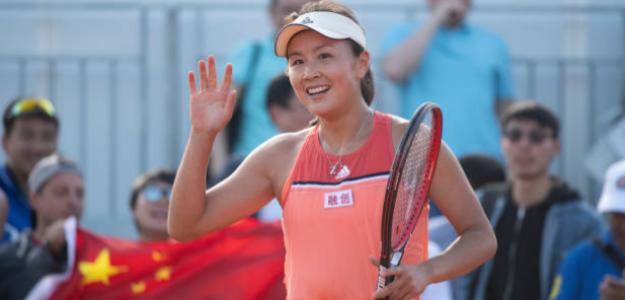 Shuai Peng, suspendida seis meses por pagar a su pareja de dobles para que se retirara. Foto: Getty