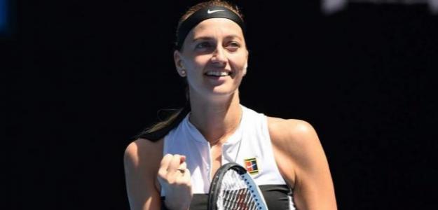 Petra Kvitova en Open de Australia 2019. Foto: zimbio