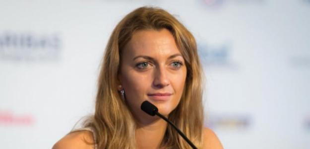 Petra Kvitova en Singapur. Fuente: Getty