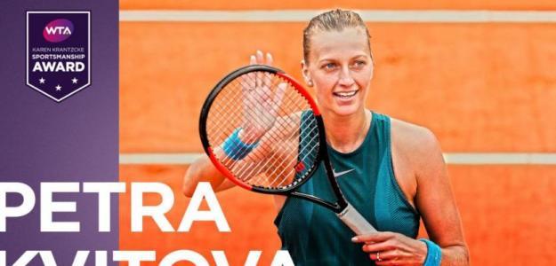 Petra Kvitova. Foto: WTA