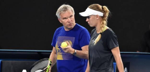 Piotr Wozniacki, posible retirada de Caroline Wozniacki. Foto: zimbio